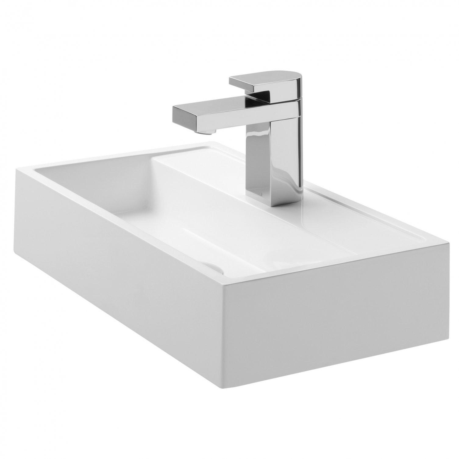 Wellnessedition  Produkt  Waschtische Und Schalen  Coram von Armatur Für Kleines Waschbecken Bild