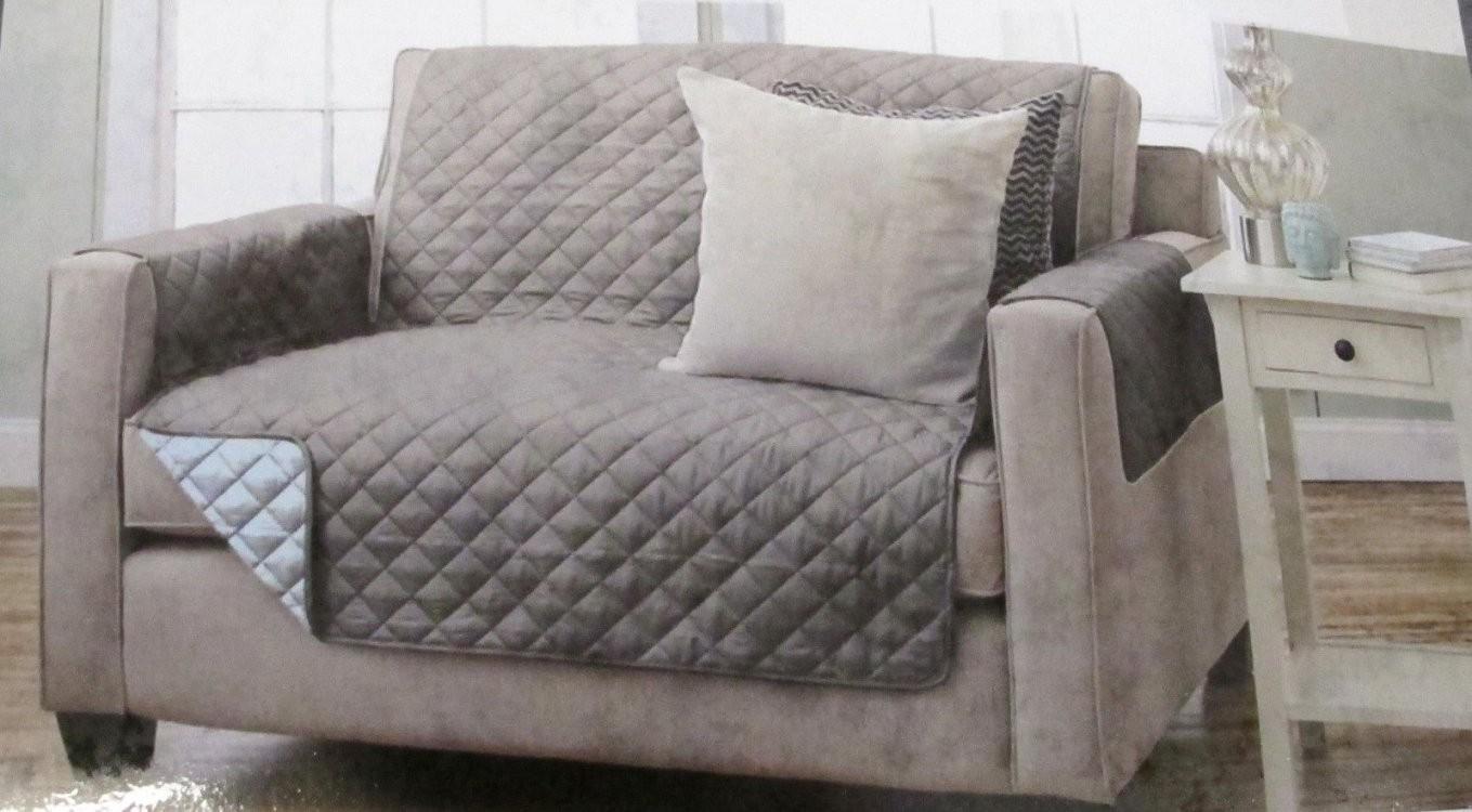 Wende Sesselschoner Sofaschoner 123 Sitzer 3 Versch Fb von Sofaüberwurf 3 Sitzer Bild