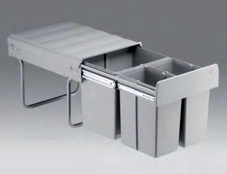 Wesco Trio Master 40 Mülleimer Küche 1X 16 2X 8 L Abfalleimer von Mülleimer Küche Wesco Photo