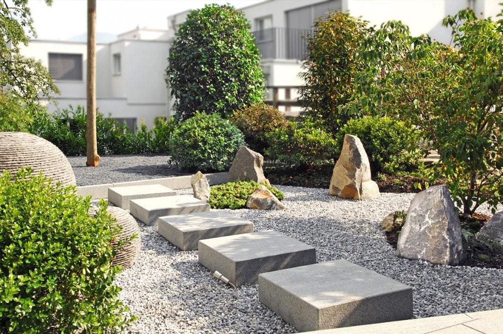 Wuhrmann Garten Ag  Japangarten von Pflanzen Im Japanischen Garten Photo