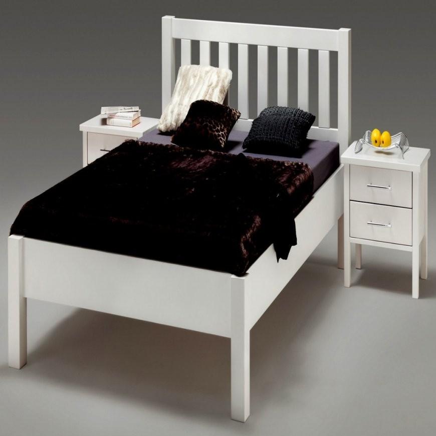 Wunderbar Bettgestell 140X200 Weiß Holz Bett Weis Gebraucht von Bett 140X200 Weiß Holz Photo