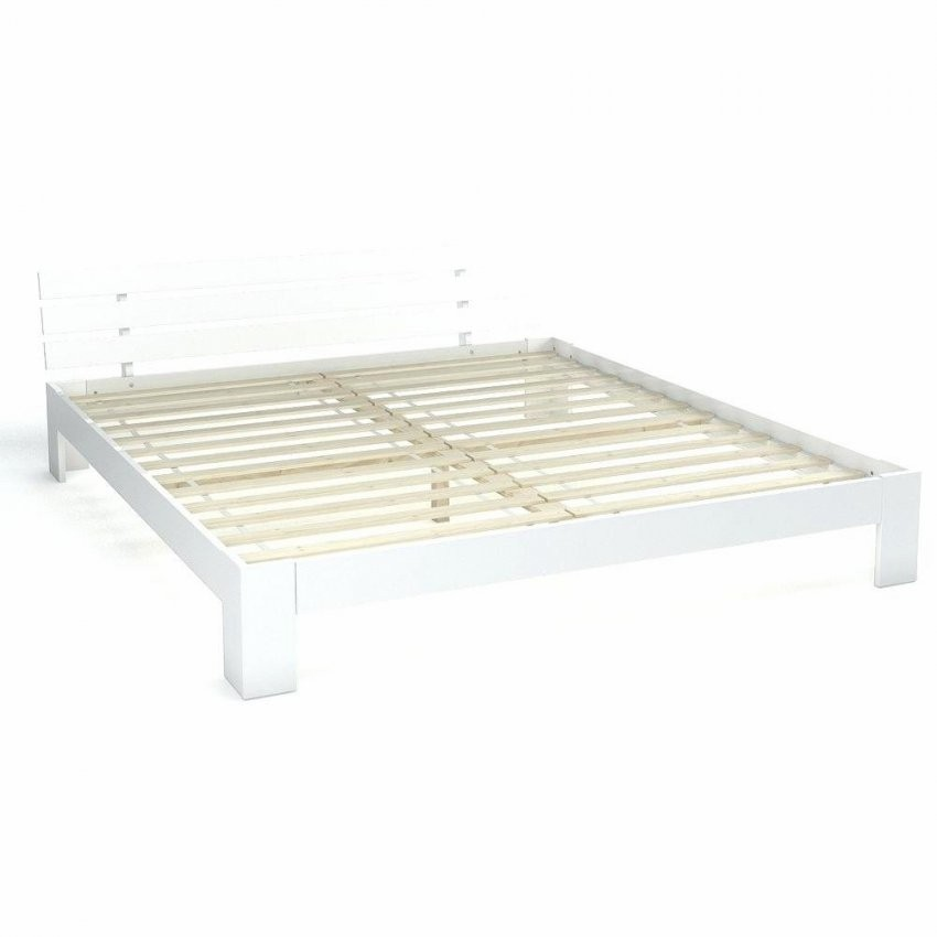 Wunderbar Bettgestell Weiß 180X200 Doppelbett Massivholz Holzbett von Bettgestell 160X200 Weiß Bild