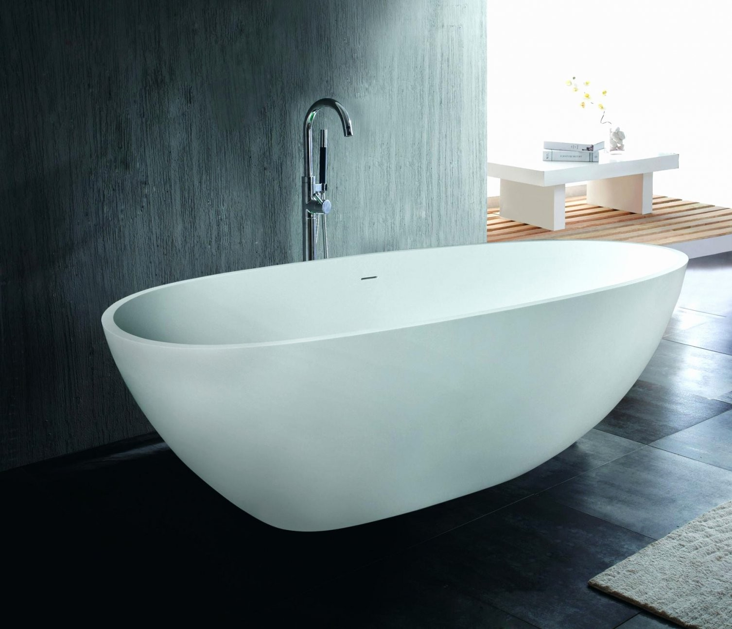 Wunderbar Ovale Badewannen Günstig Kaufen Luxuriös Freistehende von Günstige Freistehende Badewanne Bild