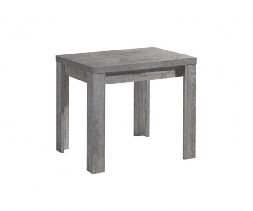 0590 80 X 60 Zip Beton Grau Optik Esszimmertisch K  Real von Kleiner Küchentisch Zum Ausziehen Bild
