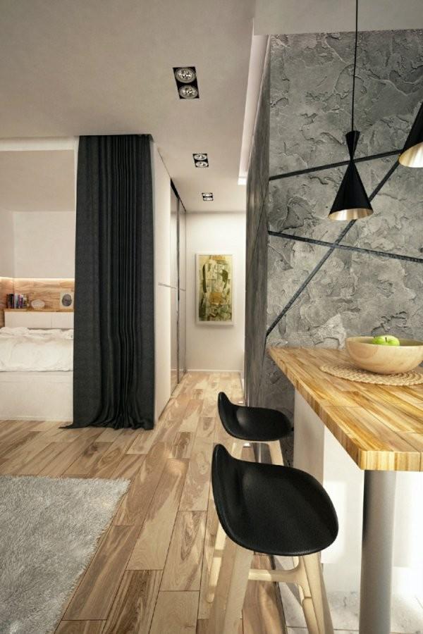 1 Zimmer Wohnung Einrichten  13 Apartments Als Inspiration von 1 Zimmer Wohnung Dekorieren Photo