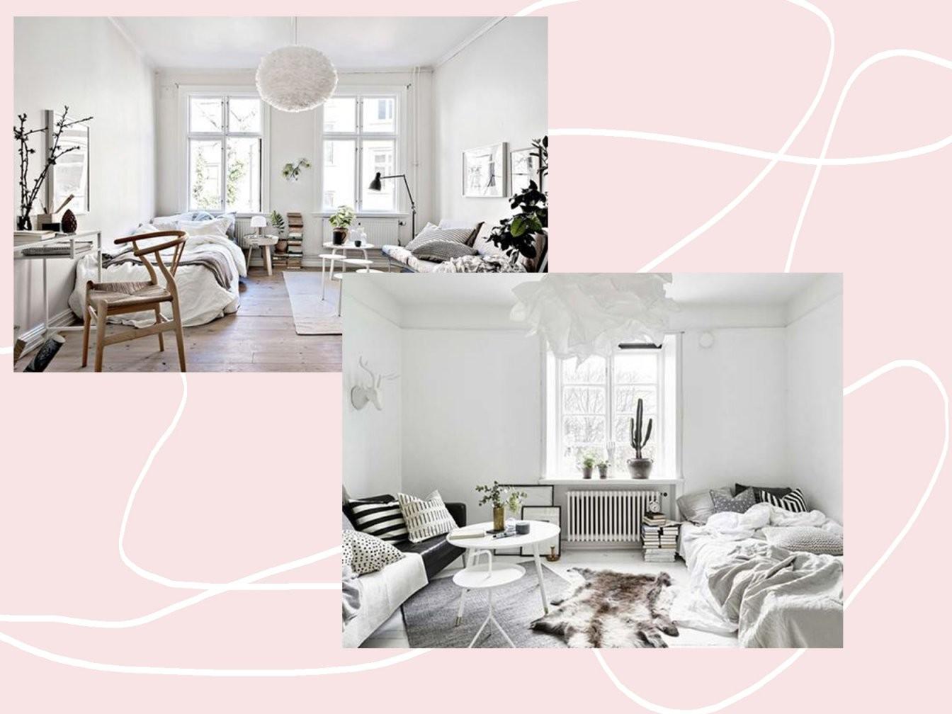 1 Zimmer Wohnung Einrichten 3 Tricks Mit Großer Wirkung  Minuscule von 1 Zimmer Wohnung Dekorieren Photo