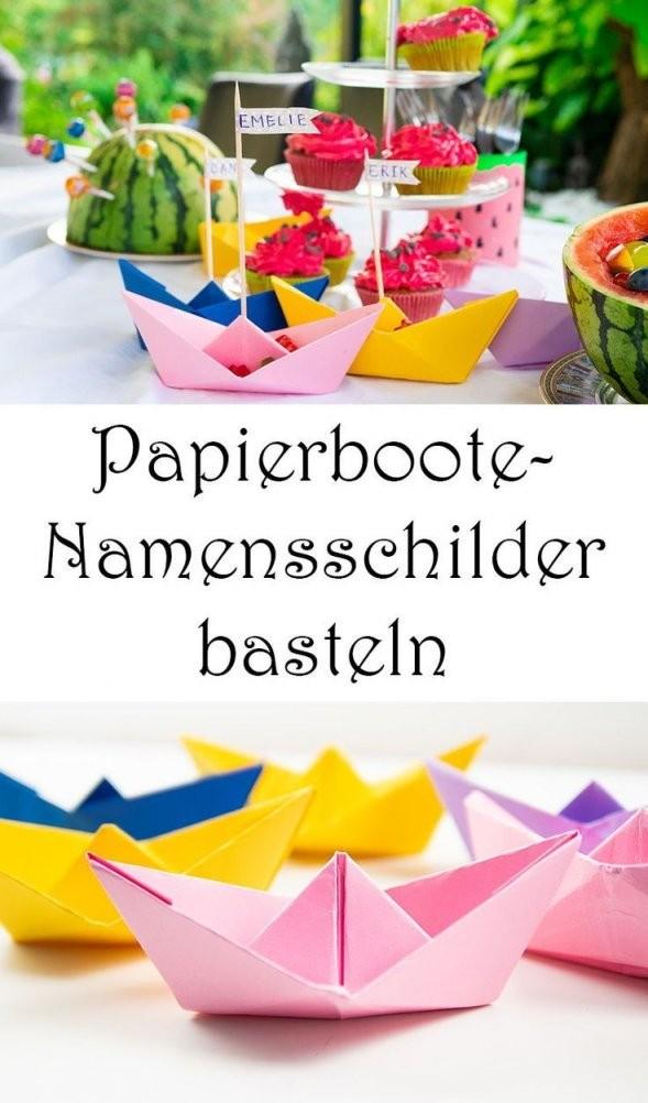 10 Sommer Party Ideen Deko Und Rezepte (Mit Silwy Magnetic von Tischdeko Kindergeburtstag Selber Basteln Photo
