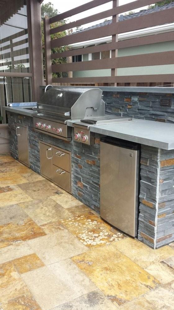 1001+ Ideen Für Außenküche Selber Bauen  23 Beispiele Für von Außenküche Selber Bauen Holz Bild