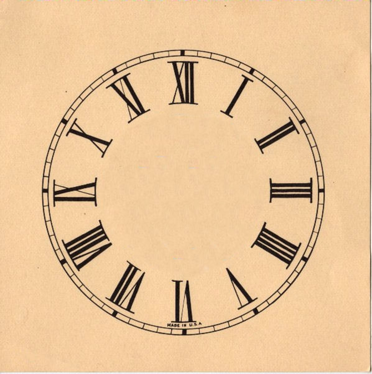 11 Clock Face Images  Print Your Own  The Graphics Fairy von Make Your Own Clock Photo