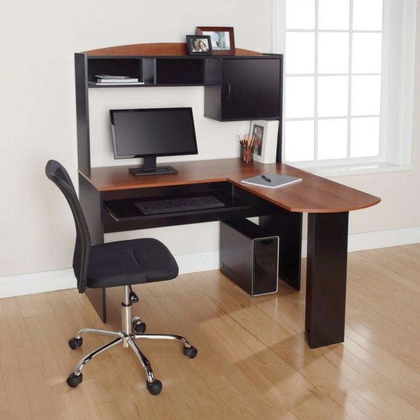11+ Schwarzer Lförmiger Schreibtisch Mit Stauraum  Wohngebäude von Schreibtisch In L Form Bild