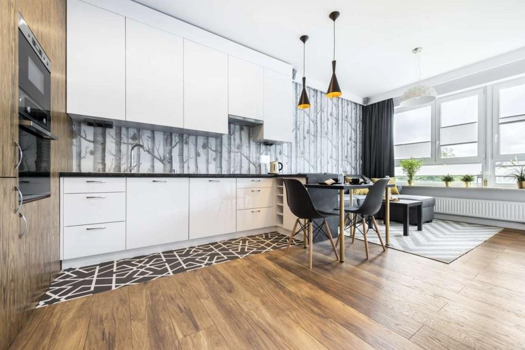 13 Alternativen Zum Fliesenspiegel  Küchen Journal von Abwaschbare Tapeten Für Die Küche Photo