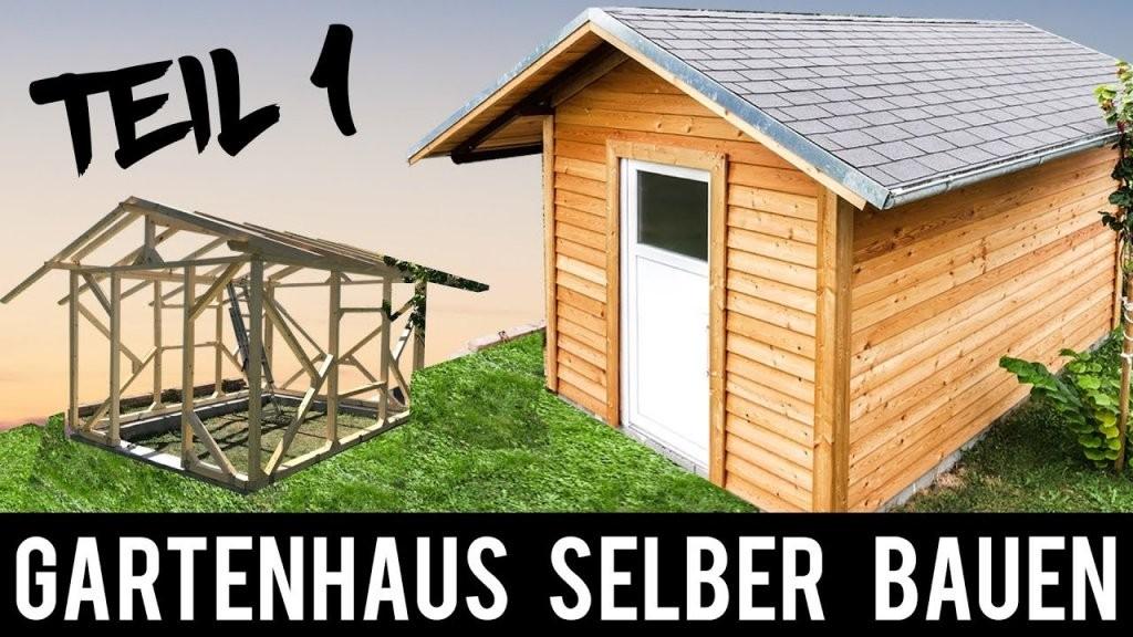 14) 🔥 Gartenhaus 🔥 Selber Bauen  Anleitung Schritt Für Schritt von Gartenhaus Selber Bauen Video Bild