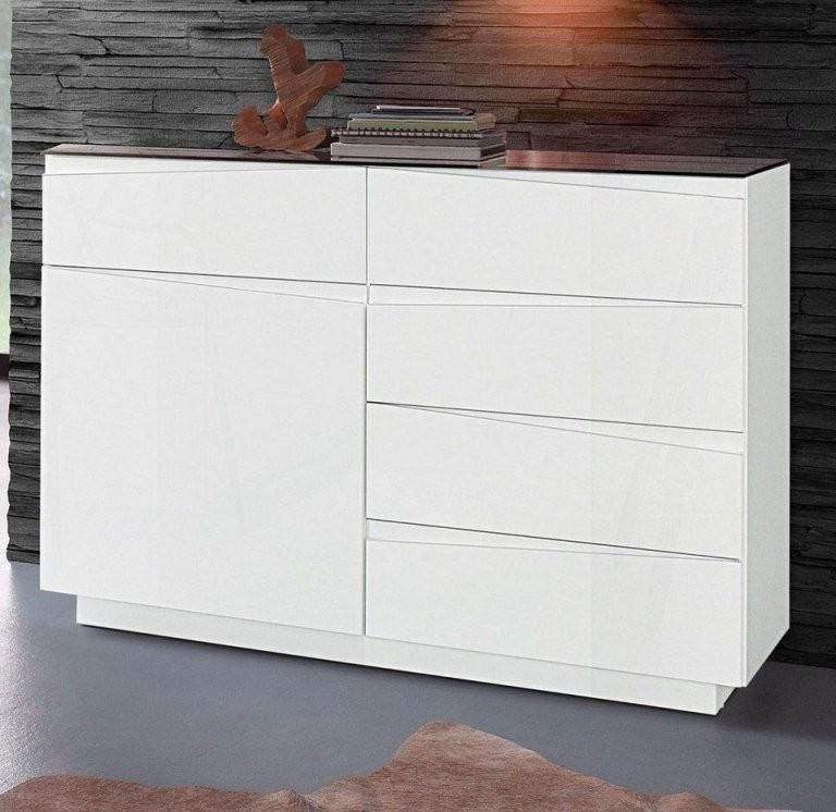 14 Weiße Kommode 120 Cm Inspirierend  Lqaff von Kommode Weiß Hochglanz 120 Cm Breit Bild