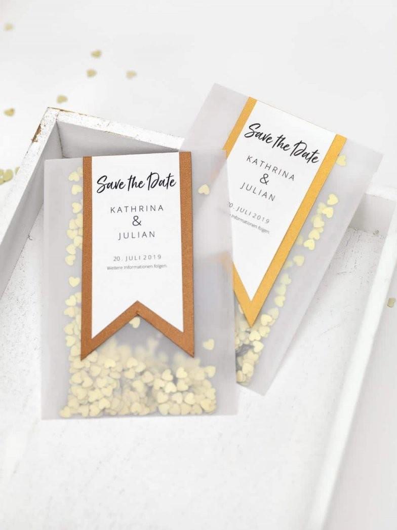 15 Savethedate Diyvorlagen Für Eure Hochzeit von Save The Date Karten Basteln Photo