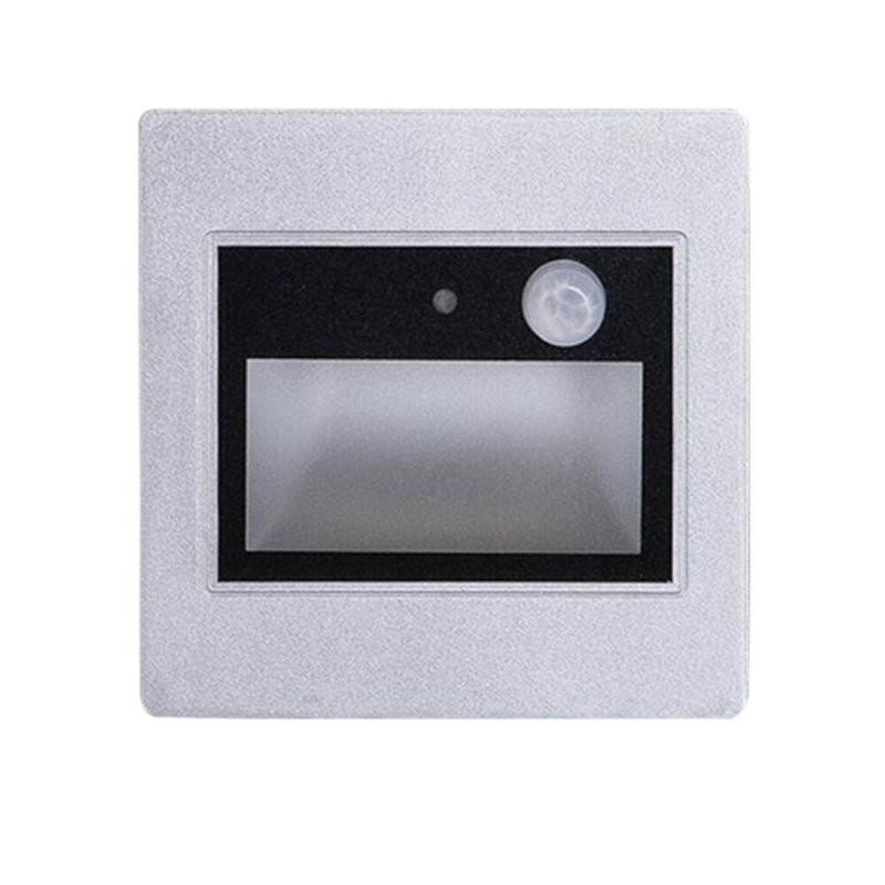 2 Stücke Led Treppenlicht 15 Watt Pir Bewegungsmelder + Lichtsensor von Flur Und Treppenbeleuchtung Mit Bewegungsmelder Photo