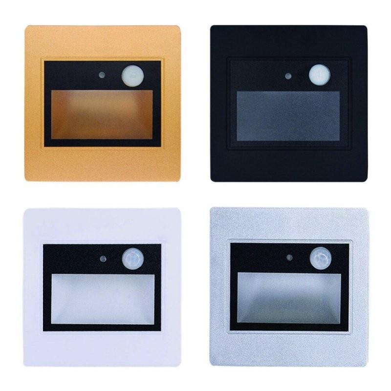 2 Stücke Led Treppenlicht 15 Watt Pir Bewegungsmelder + Lichtsensor von Led Treppenlicht Mit Bewegungsmelder Bild