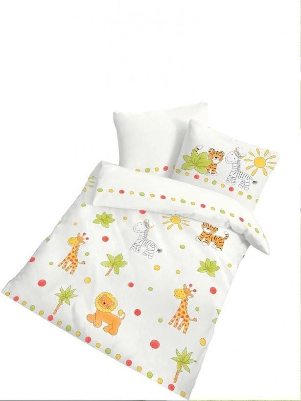 2 Tlg Kinder Baby Bettwäsche 100 X 135 Cm Weiß Biber  Real von Bettwäsche Afrika Baumwolle Photo