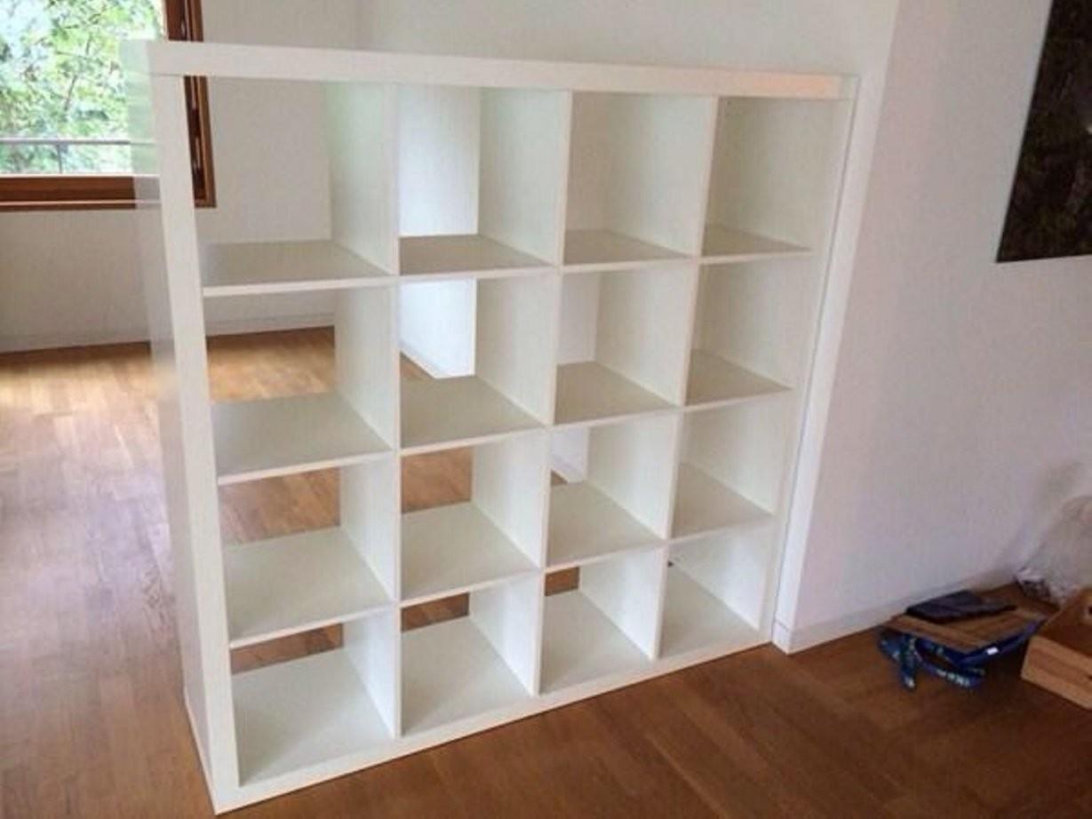 20 Expedit Regal Weiß 4X4 Schön  Lqaff von Ikea Regal Kallax Gebraucht Bild