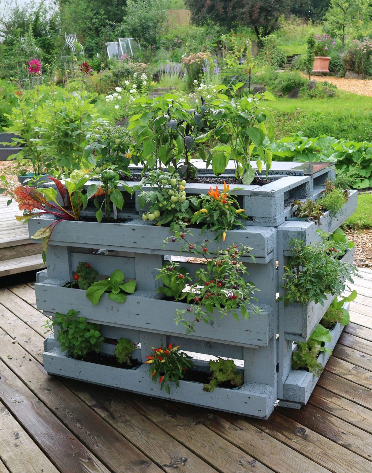 20 Kreative Projekte Zum Selber Machen Für Deinen Balkon Deiner von Kreative Gartengestaltung Selber Machen Bild
