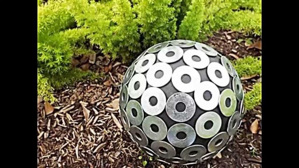 20 Sommerliche Garten Deko Ideen Mit Bowlingkuggeln Zum Selbermachen von Kreative Gartengestaltung Selber Machen Bild
