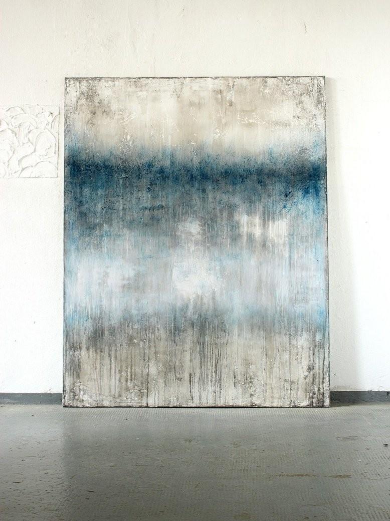 201 6  150 X 120 Cm  Mischtechnik Auf Leinwand  Abstrakte Kunst von Bilder Auf Leinwand Abstrakt Bild