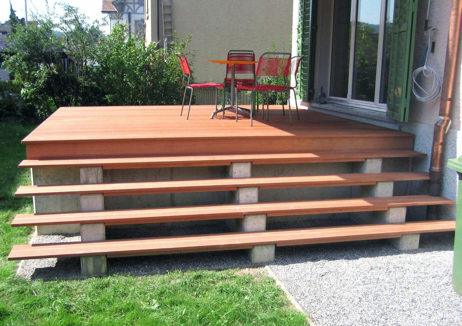 21 Angenehm Galerie Bilder Von Außentreppe Holz Mit Podest von Terrassen Treppen Selber Bauen Photo