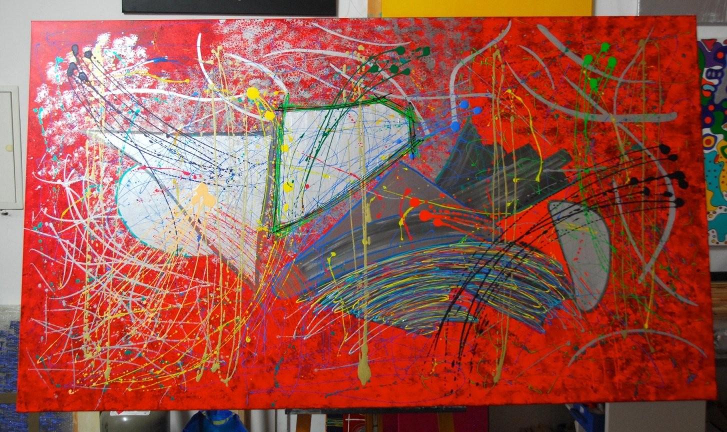 210X120Cm Acryl Leinwand Abstrakt von Bilder Auf Leinwand Abstrakt Bild