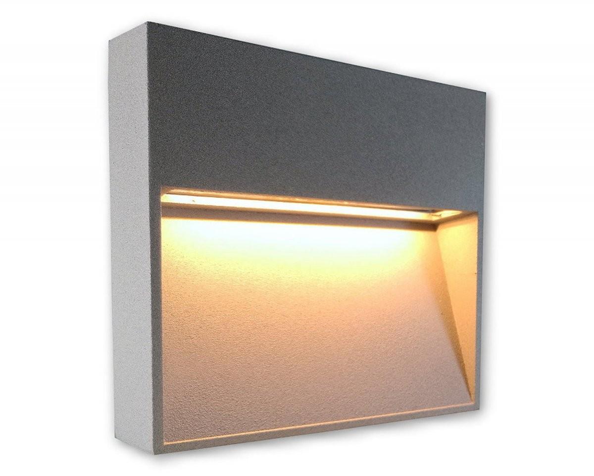 230V Led Spot Wandlampe Aufbauleuchte Aufputz Strahler Treppenlicht von Aufputz Led Spots 230V Photo