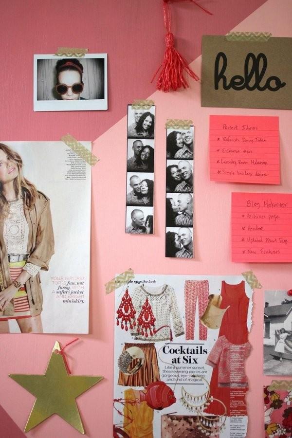 25 Coole Bastelideen Fürs Teenagerzimmer Für Mädchen von Deko Selber Machen Jugendzimmer Photo