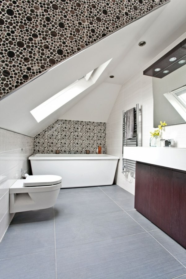 27 Design Ideen Für Badezimmer Mit Dachschräge von Bad Mit Dachschräge Planen Bild