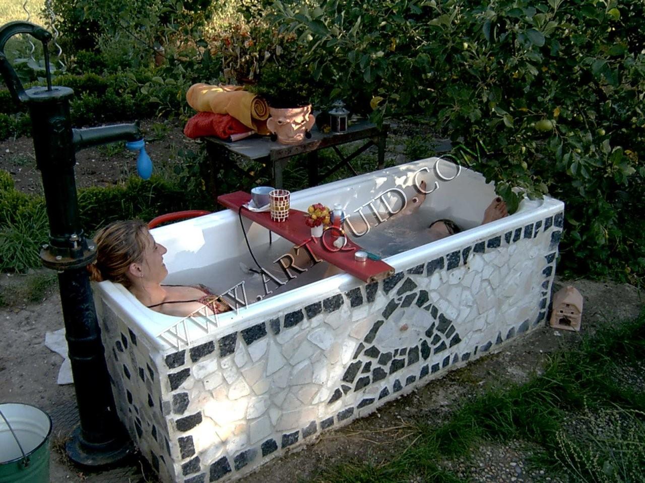 30 Luxus 30 Von Badewanne Im Garten Ideen   Gartengestaltung Ideen von Badewanne Für Den Garten Photo