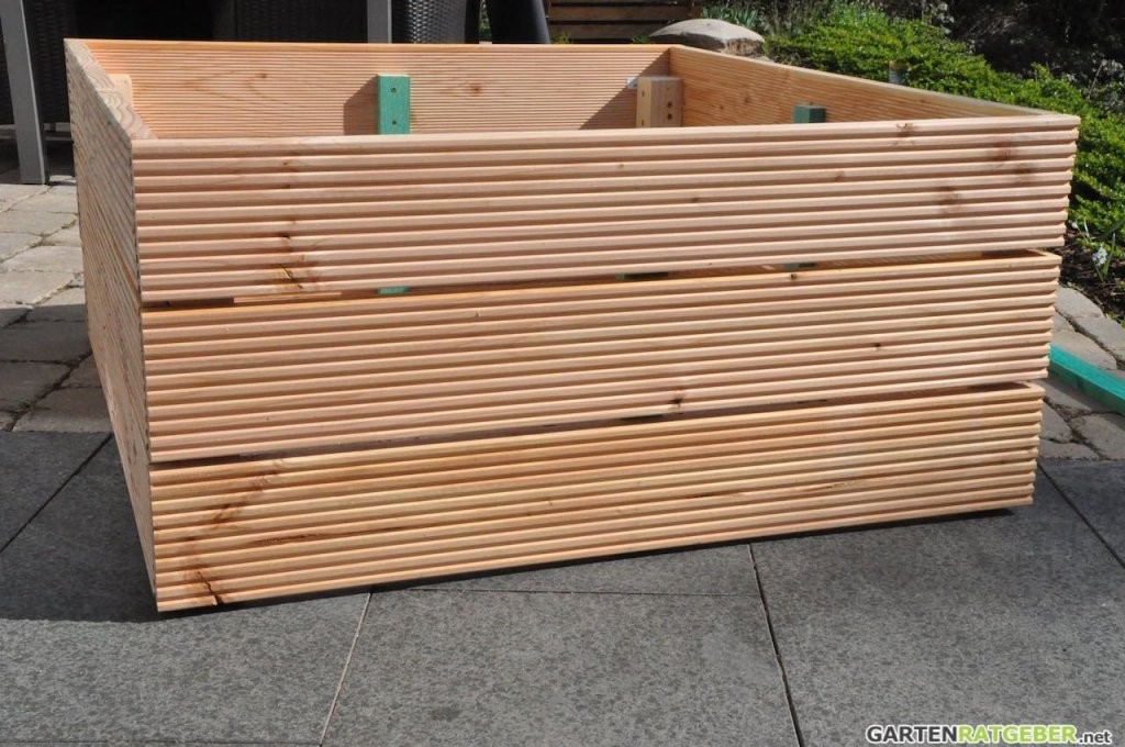 30 Luxus 30 Von Hochbeete Aus Holz Selber Bauen Konzept von Holz Pflanzkübel Selber Bauen Photo