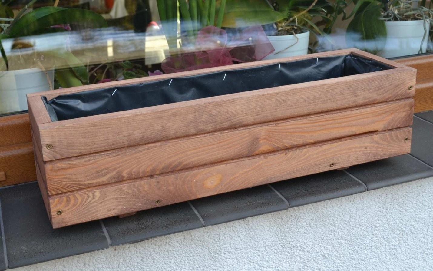 31 Ehrfurcht Dekor Inspirationen Von Holz Pflanzkübel von Blumenkasten Holz Selber Bauen Photo
