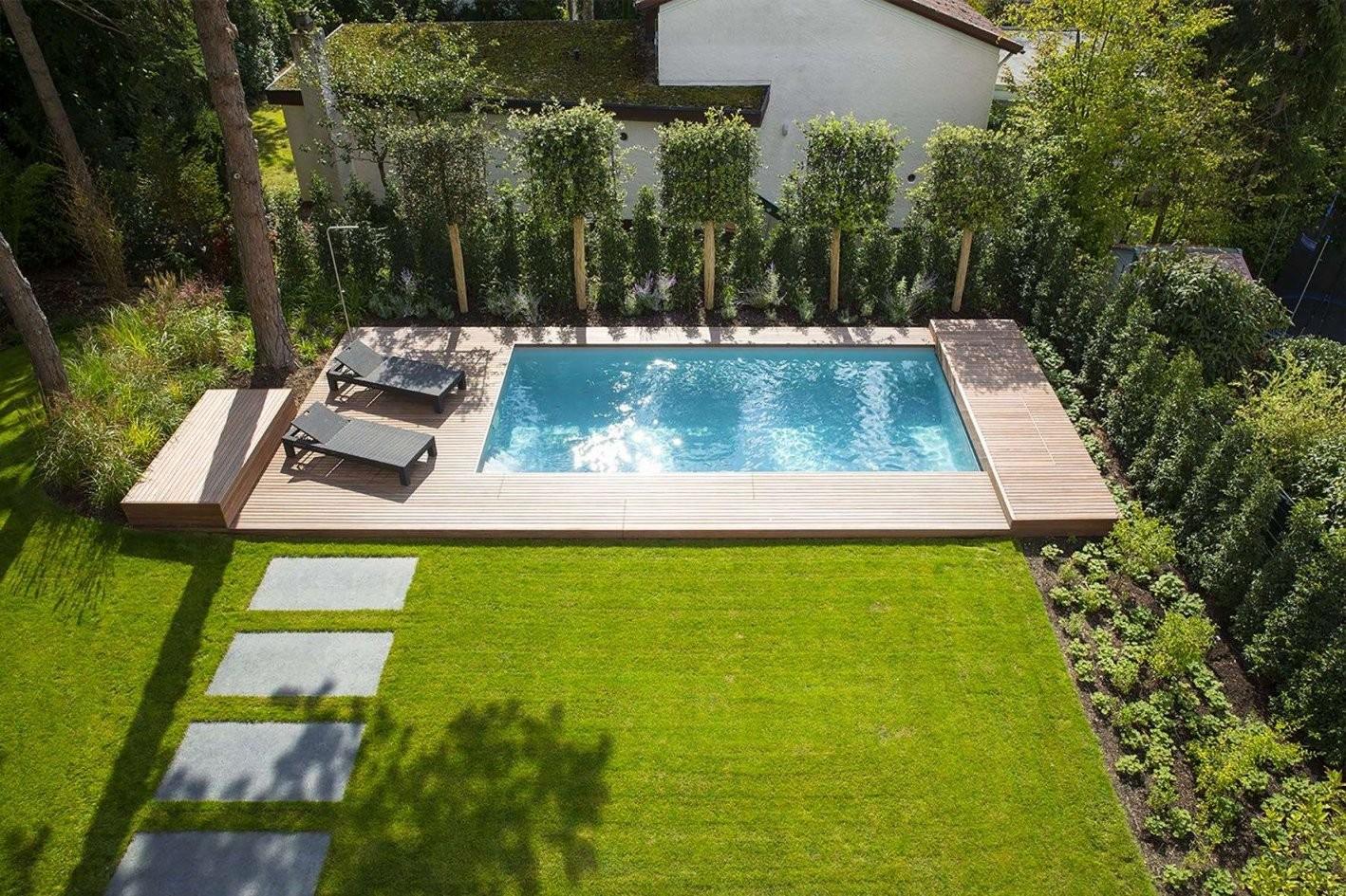 31 Genial Kleiner Garten Mit Pool Gestalten von Garten Gestalten Mit Pool Bild