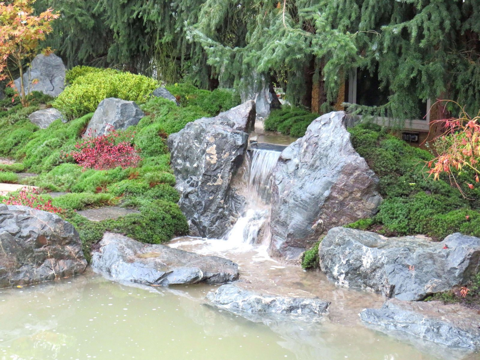 31 Luxus Garten Wasserfall Selber Bauen Designideen Von Teich von Teich Mit Wasserfall Selber Bauen Photo