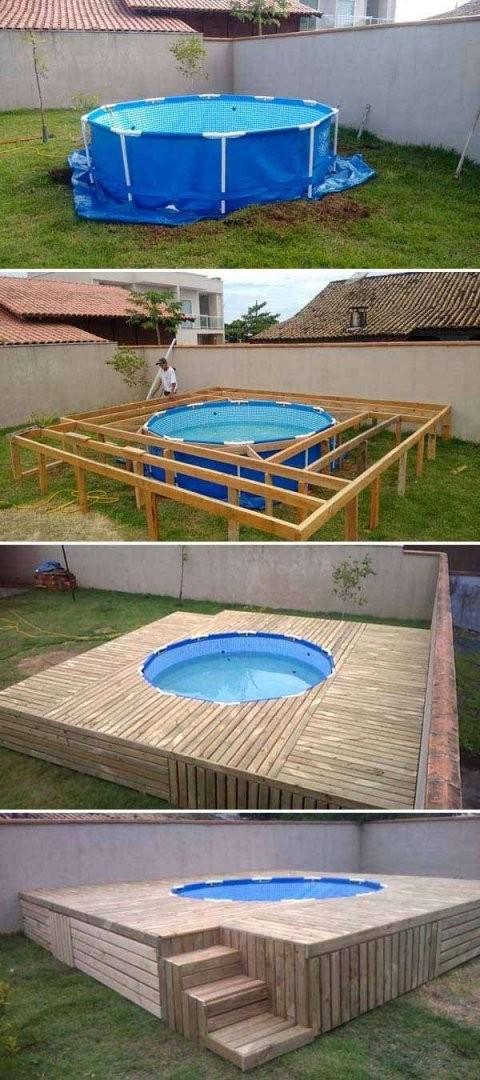 32 Reizend Mini Pool Im Garten  Garten Gallerie von Mini Pool Im Garten Photo