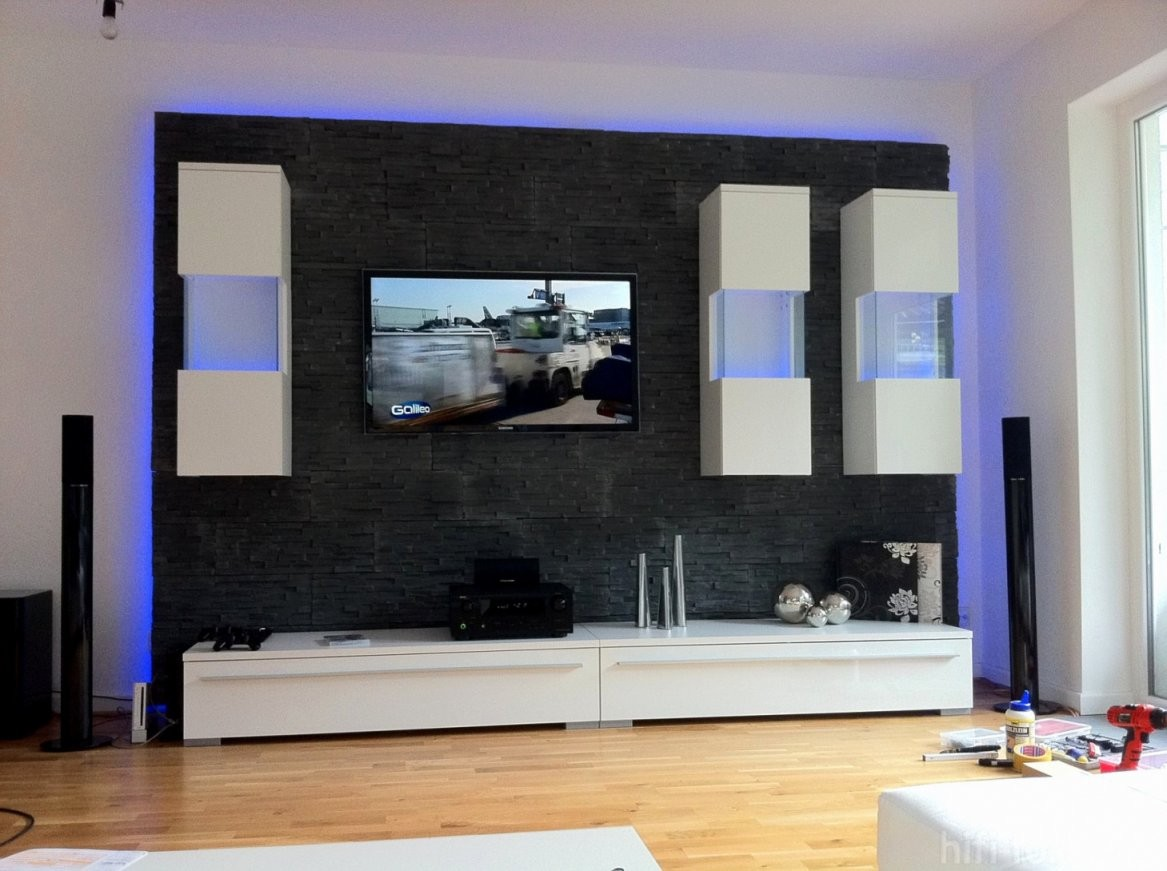 35 Belle Led Tv Wand Bauen  Ahhadesigns von Led Wand Selber Bauen Bild