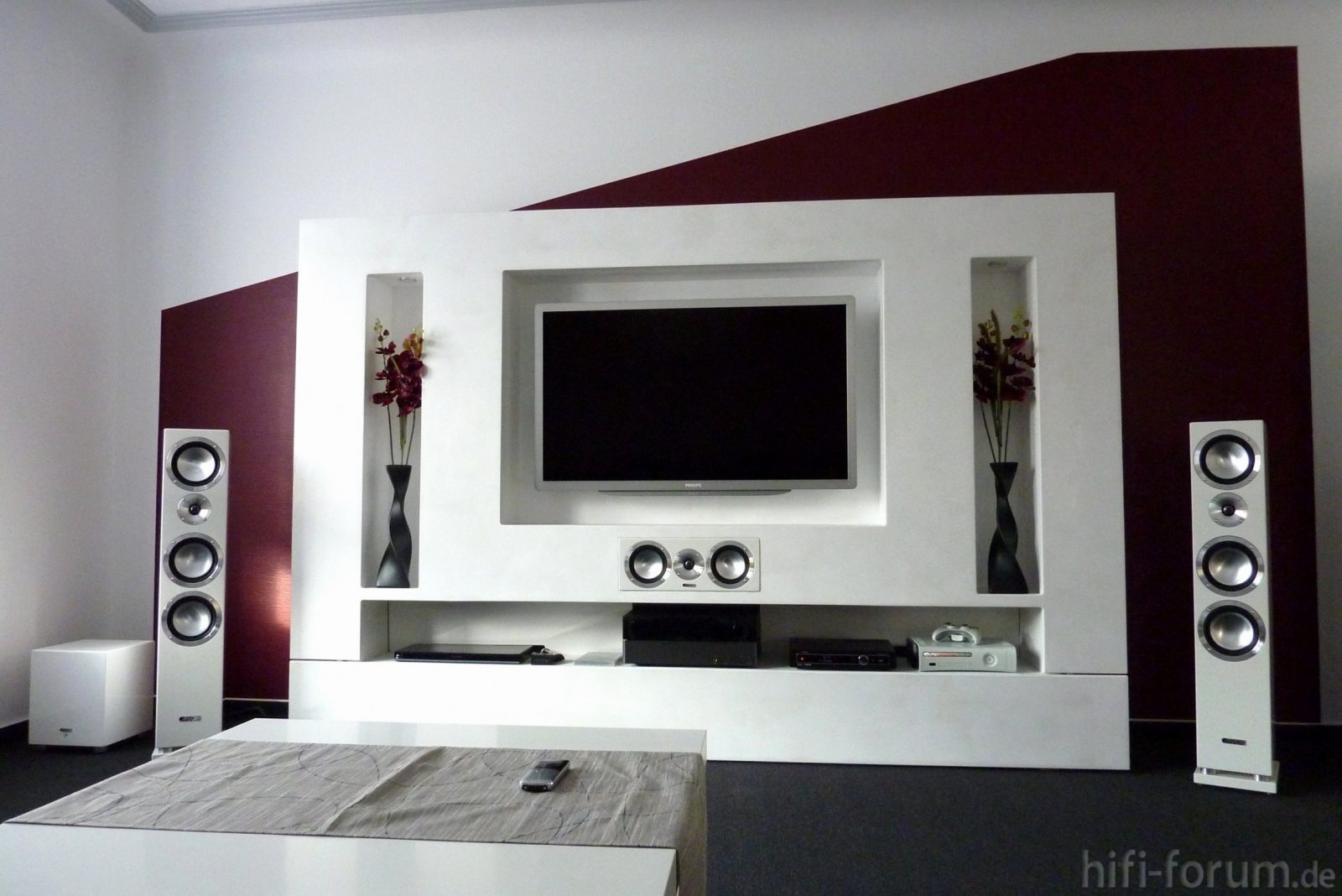 35 Moderne Tv Wand Selber Bauen Laminat  Ahhadesigns von Hifi Wand Selber Bauen Photo