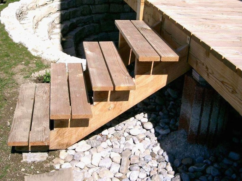 35 Neu Treppe Garten Selber Bauen Holz von Außentreppe Selber Bauen Holz Bild