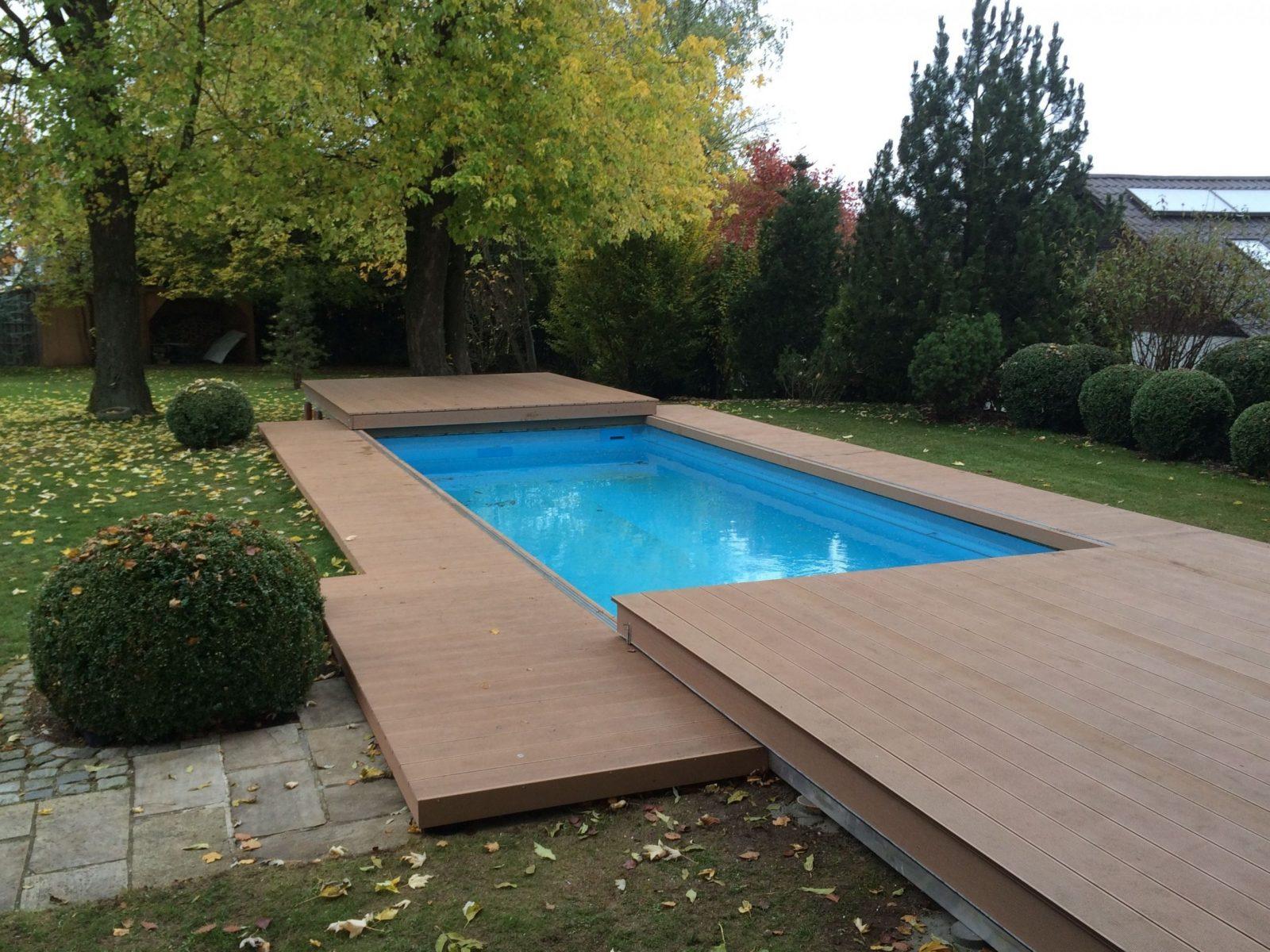 35 Pool Terrasse Selber Bauen Konzept   Gartenideen von Poolabdeckung Selber Bauen Holz Photo