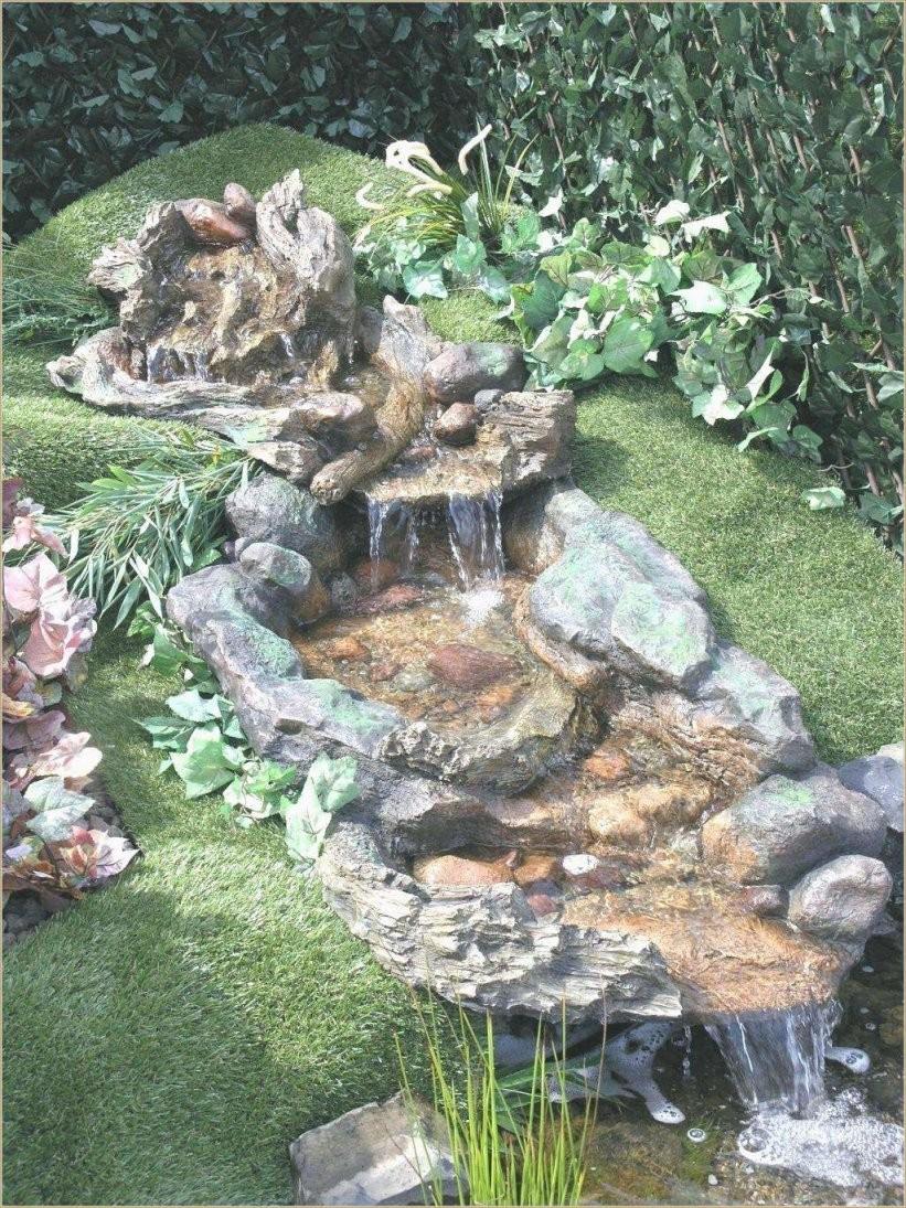 37 Reizend Wasserfall Im Garten Selber Bauen von Wasserfall Gartenteich Selber Bauen Bild
