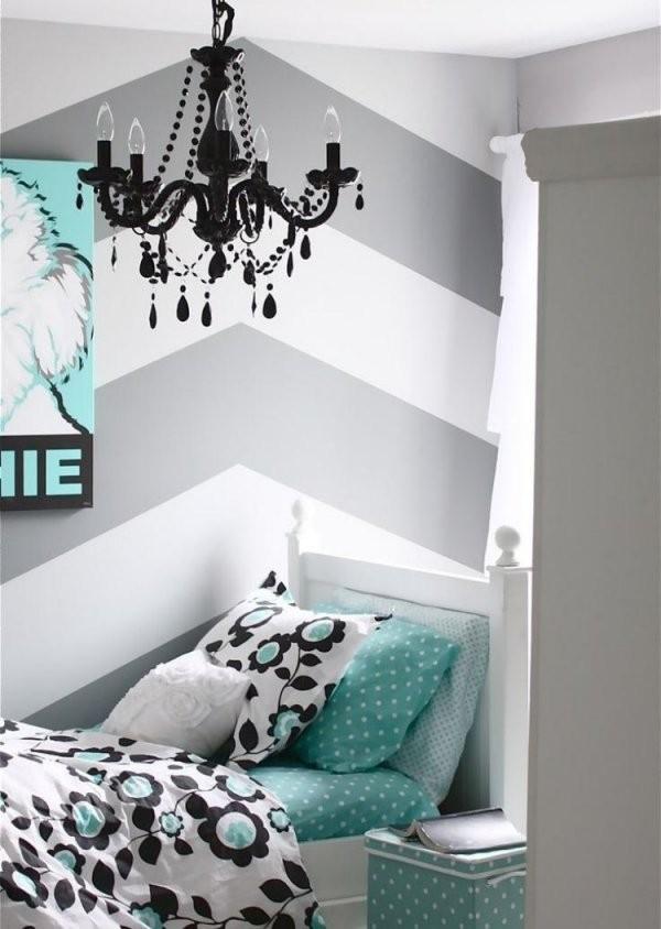 37 Wand Ideen Zum Selbermachen  Schlafzimmer Streichen von Wandgestaltung Schlafzimmer Selber Machen Bild