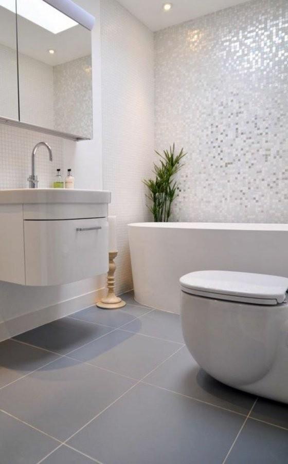 40 Fantastische Beispiele Für Designer Badezimmer  Nooks  Grey von Fliesen Fürs Bad Beispiele Photo