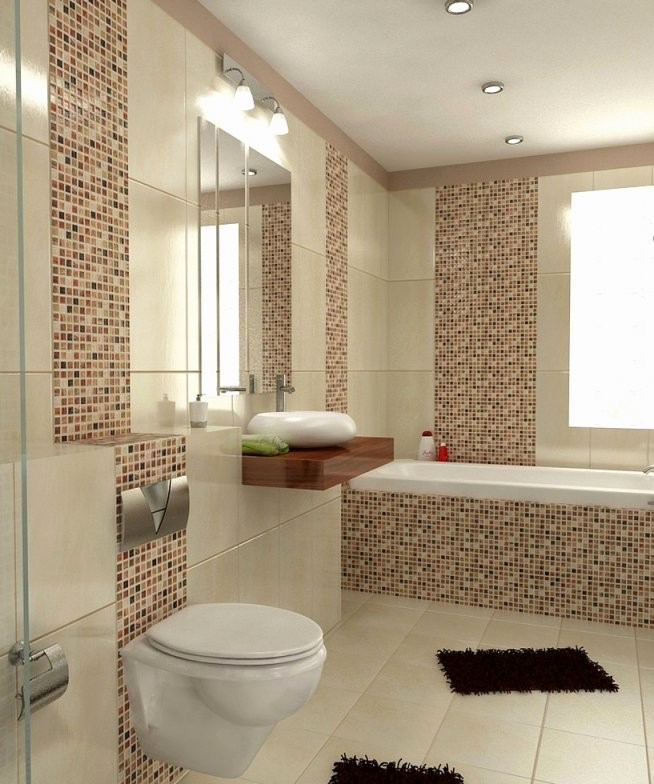 40 Sammlung Stock Von Badezimmer Fliesen Beige  Haus Ideen Möbel von Moderne Badezimmer Fliesen Beige Bild
