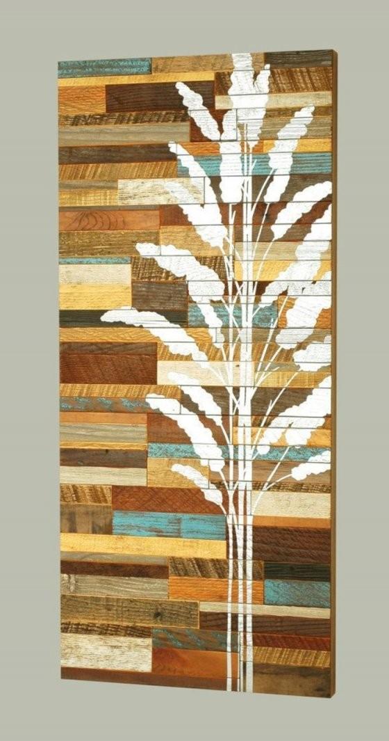 40 Verblüffende Ideen Für Wanddeko Aus Holz  Archzine von Moderne Wanddeko Aus Holz Bild