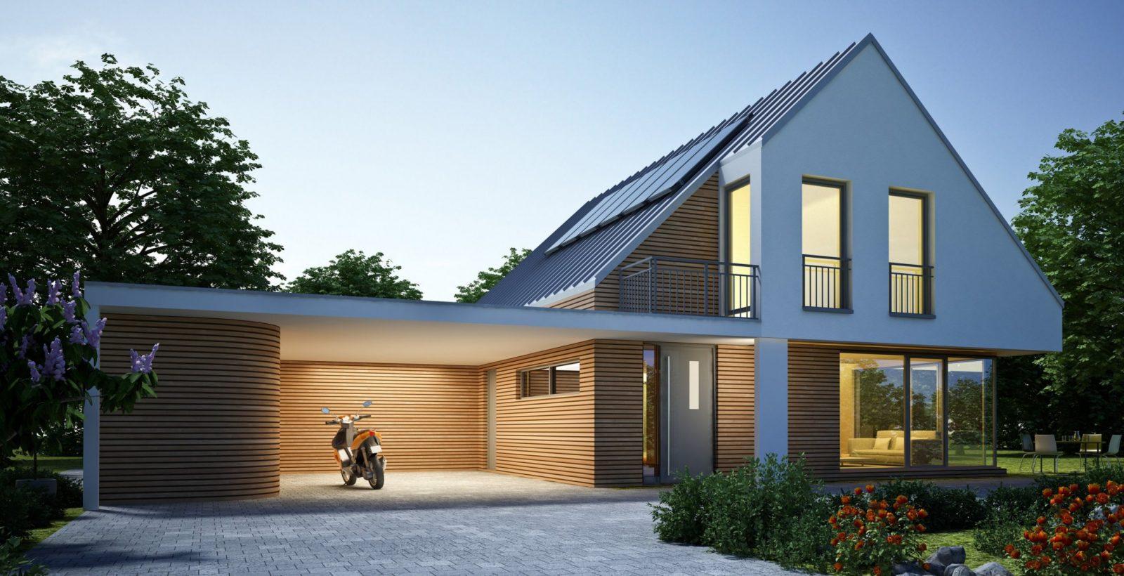 41 Charmant Carport Am Haus Bilder  Ideen Zu Hause Design von Carport Am Haus Modern Photo