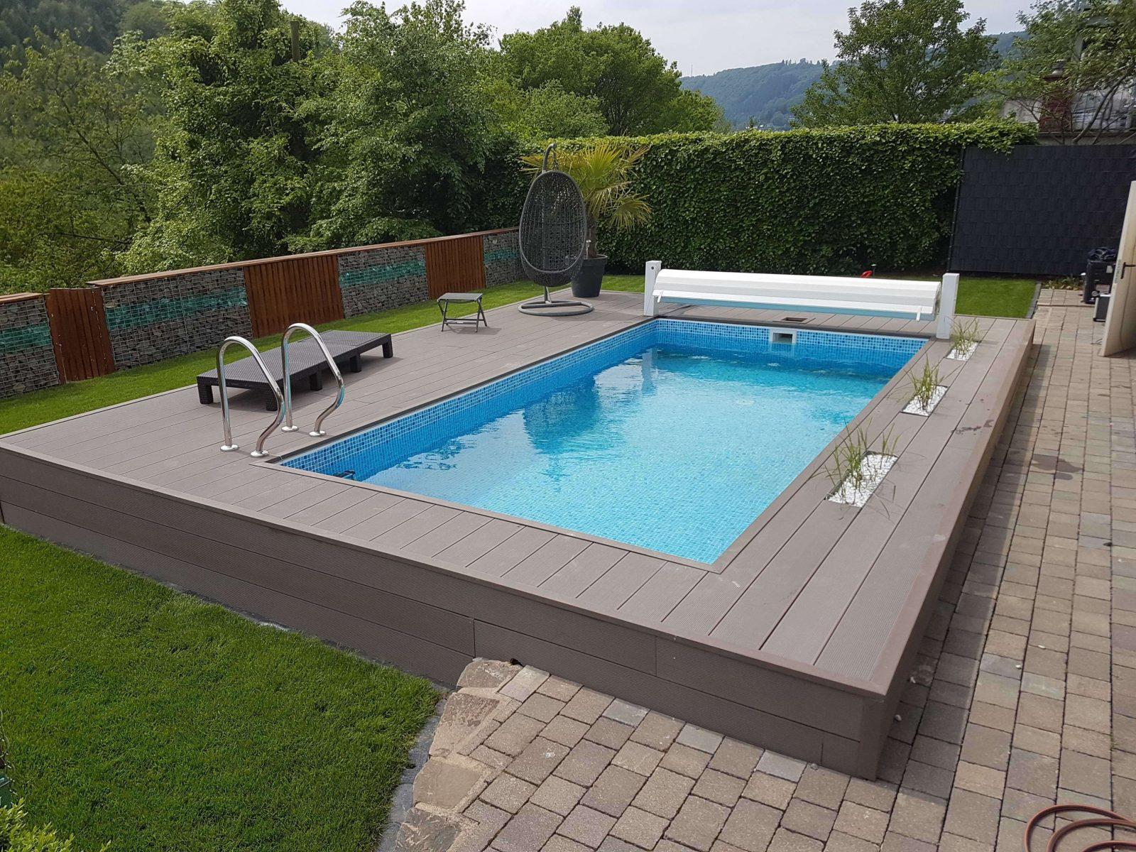 42 Das Beste Von Eingebauter Pool Im Garten Grafik Inspiration Von von Mini Pool Im Garten Bild