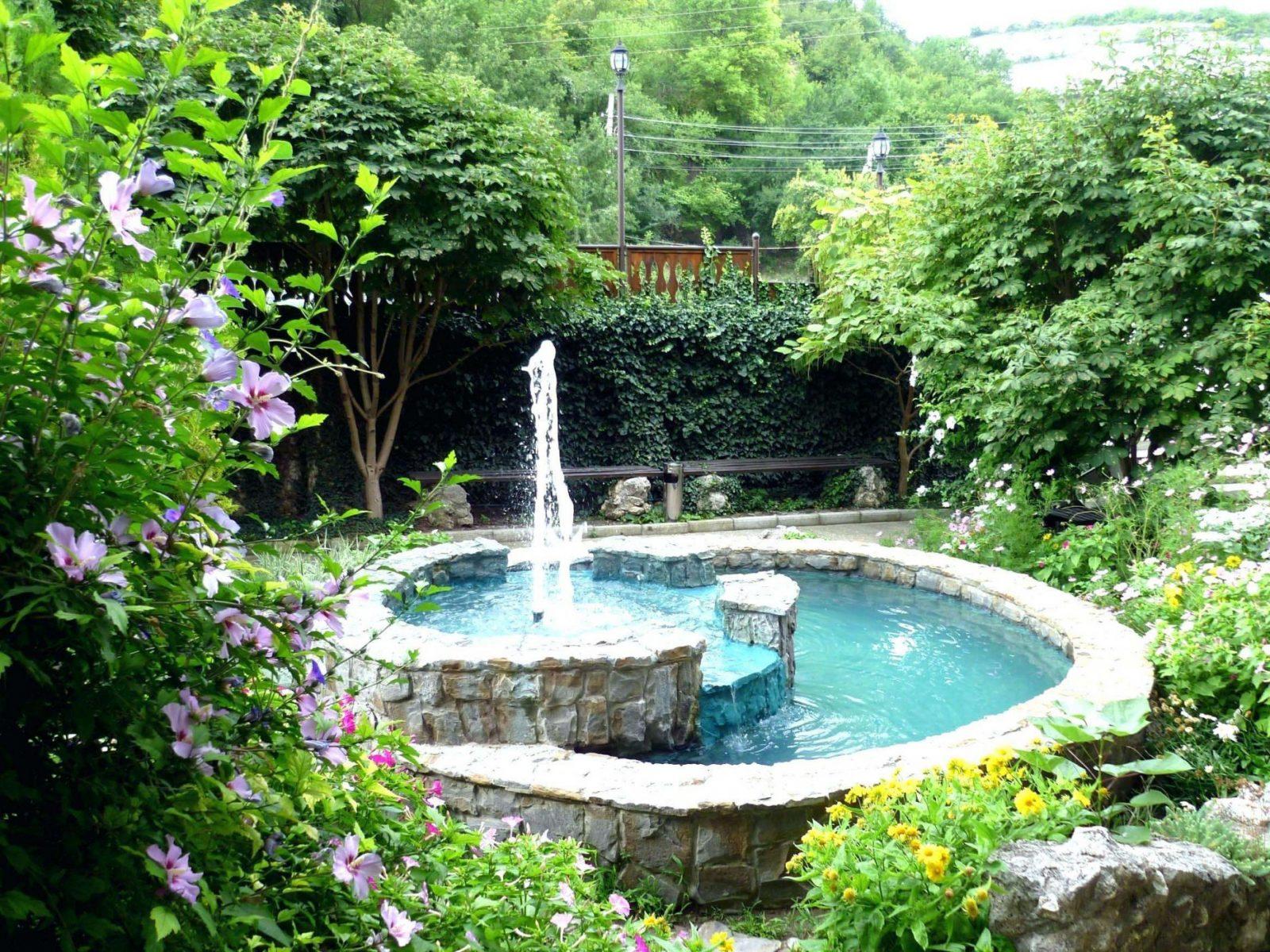 42 Inspirierend Wasserfall Gartenbrunnen Pic  Komplette Ideen von Garten Springbrunnen Selber Bauen Photo