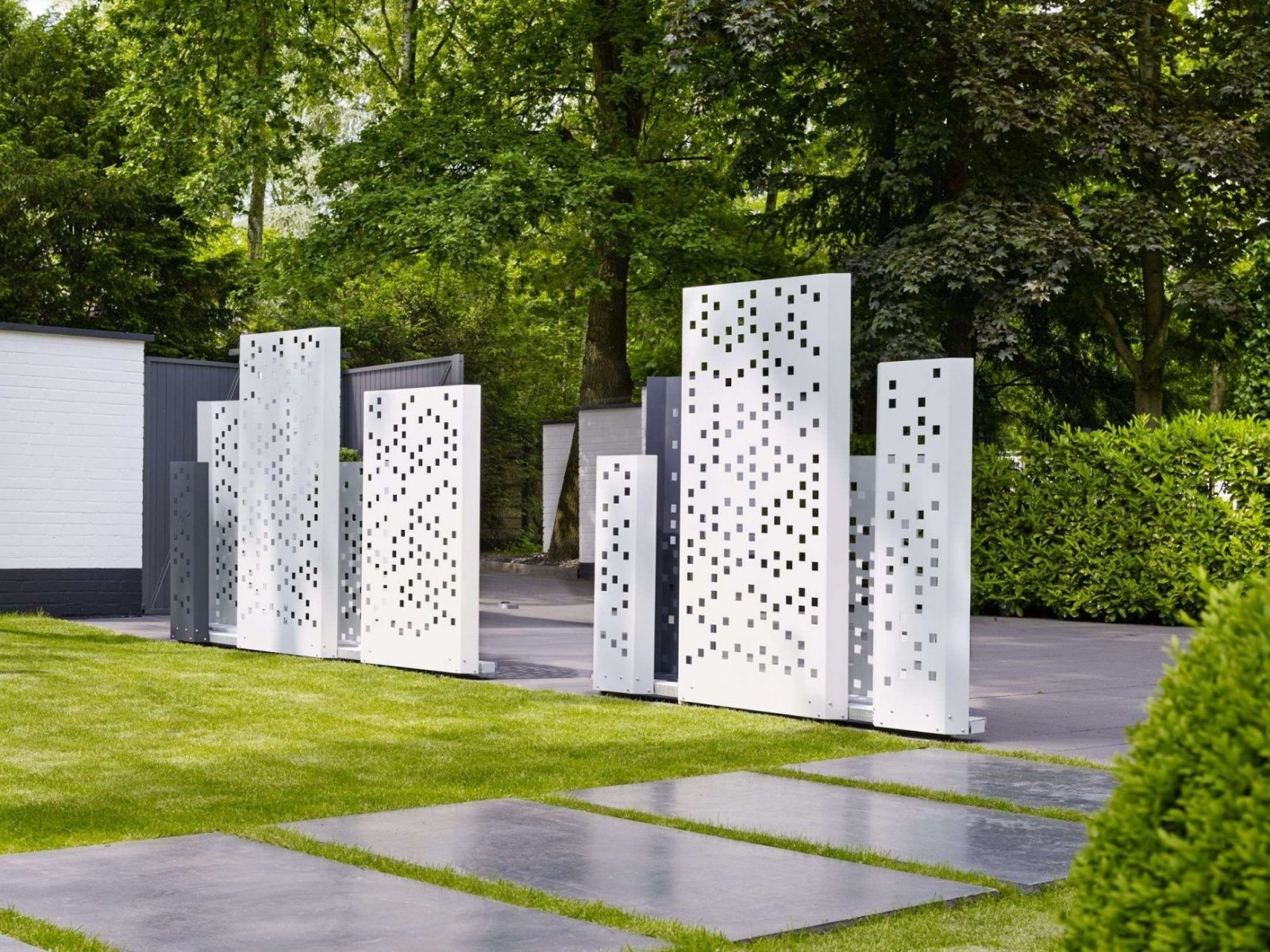 42 Schön Garten Sichtschutz Rost Galerie  Komplette Ideen von Sichtschutz Garten Metall Rost Bild
