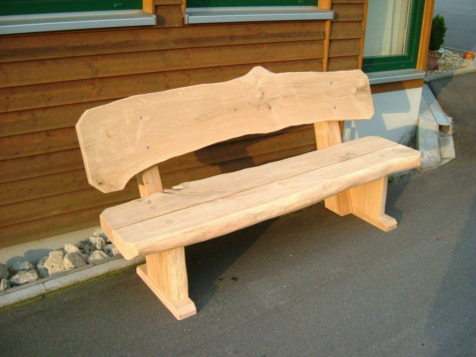 43 Schön Bild Von Gartenbank Holz Rustikal Selber Bauen Inspiration von Rustikale Holzbank Selber Bauen Bild